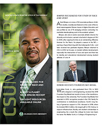 Cover of CSU Matters March 2018 issue